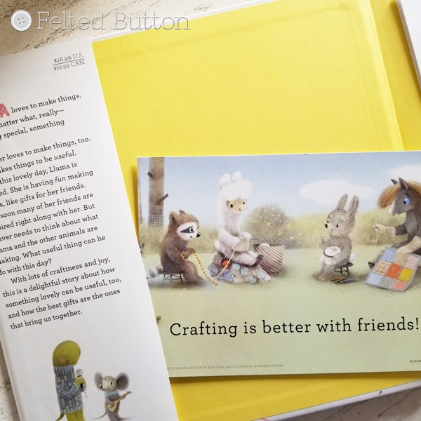Crafty Llama Book Review by Susan Carlso of Felted Button -- Colorful Crochet Patterns