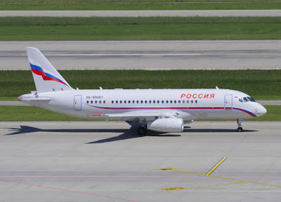Russia Special Detachment Sukhoi Superjet 100-95LR RA-89067