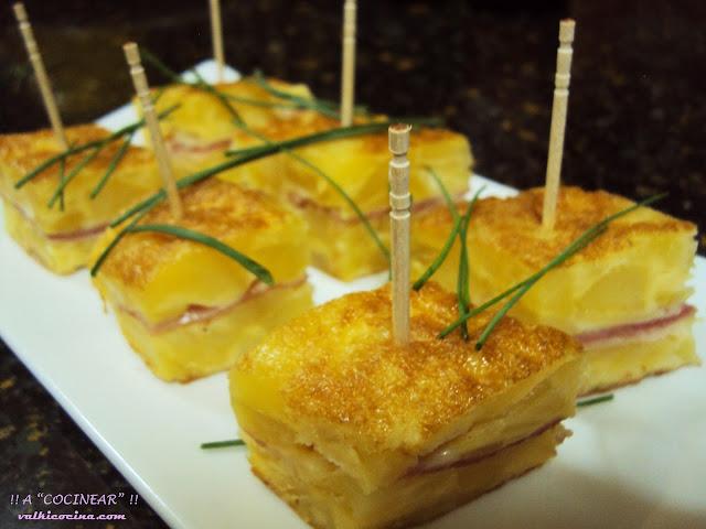 Rellena de J. cocido y queso
