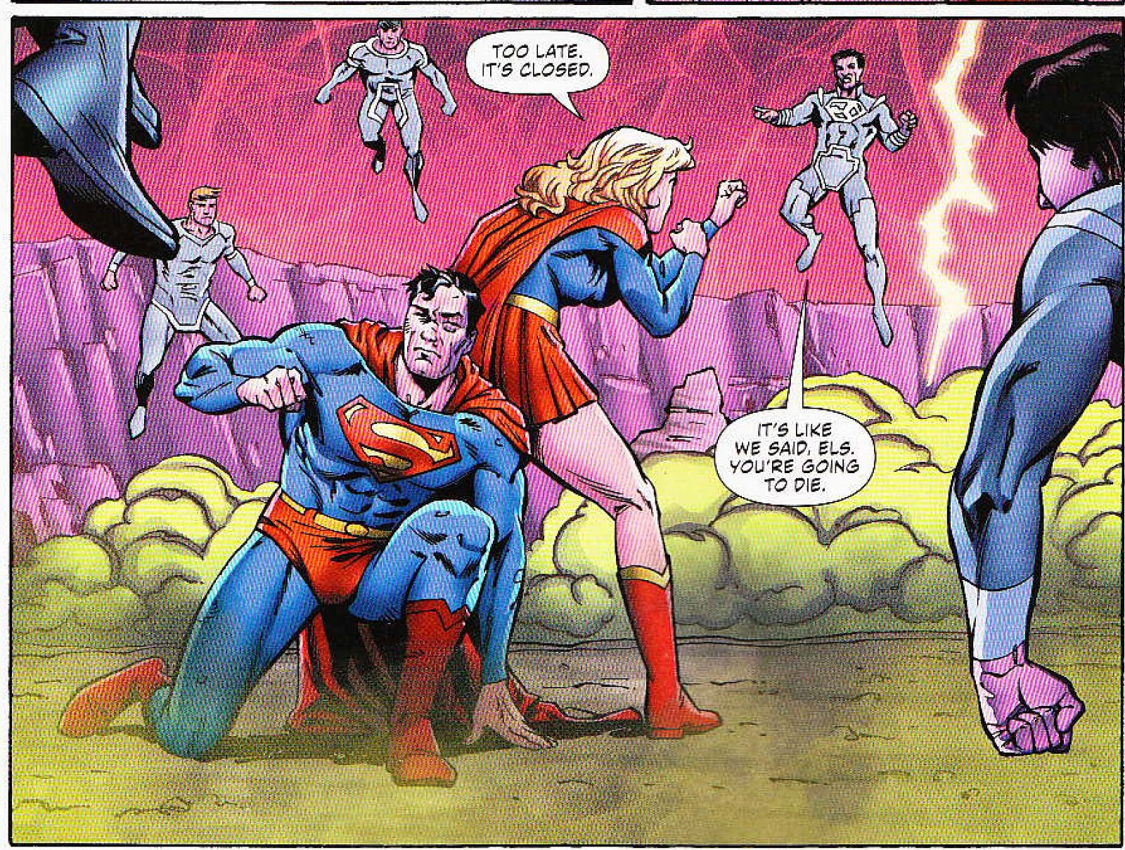 Supergirl Comic Box Commentary: Review: Convergence