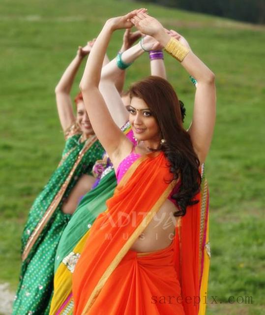 "Pranitha In Saree And Half Sarees From ""Attarintiki Daredi"