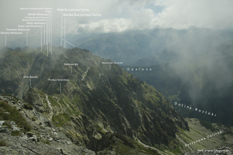 Panorama ze Skrajnego Granata