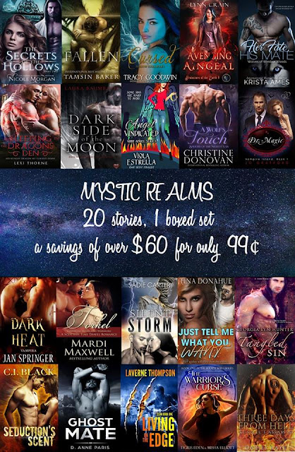 Authors of Mystic Realms - #MysticRealms #PNR #UrbanFantasy #BoxedSet