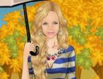 لعبة تلبيس فتاة الشمسيه