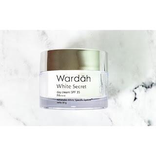 Manfaat Wardah White Secret Day Cream dan Cara Pemakaiannya
