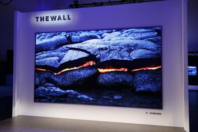 Samsung anuncia TV com tecnologia Micro LED