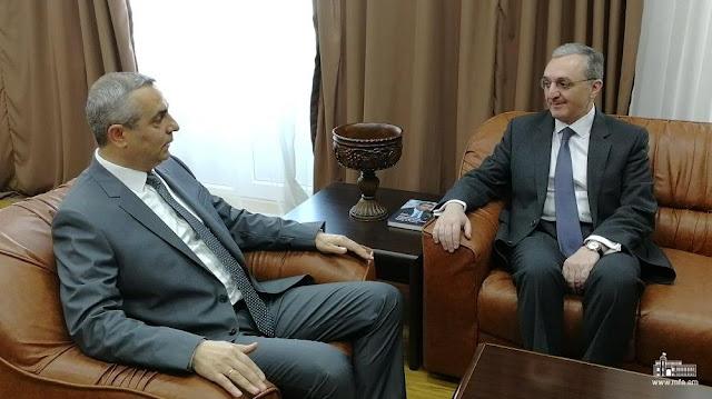 Reunión entre los Ministros de Asuntos Exteriores de Armenia y Artsaj
