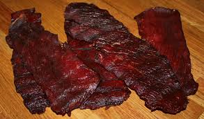 Camping Snack Beef Jerky