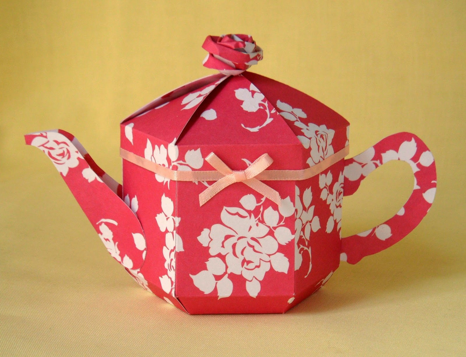 Esselle Crafts Teapot Template