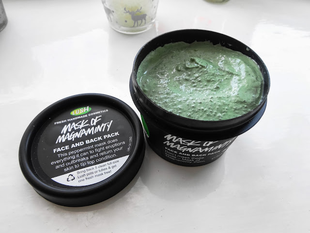 Lush Mask of Magnaminty Face Cleanser