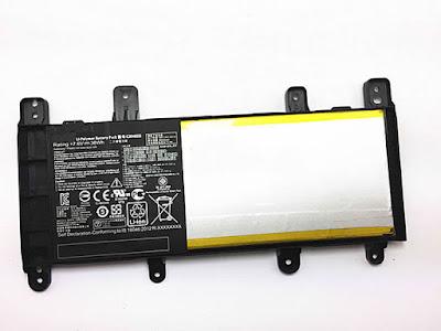 38Wh C21N1515 batterij voor Asus Notebook X Serie X756UJ X756UA X756UX X756UB