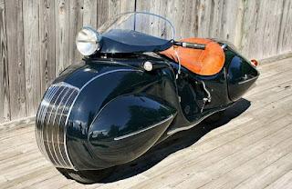 Мотоцикл в стиле АртДеко - больше искусство чем дизайн