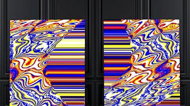 Díptico abstracto: Dreams