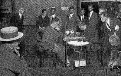 Partida Golmayo-Tartakower en el Torneo Internacional de Ajedrez Barcelona 1929