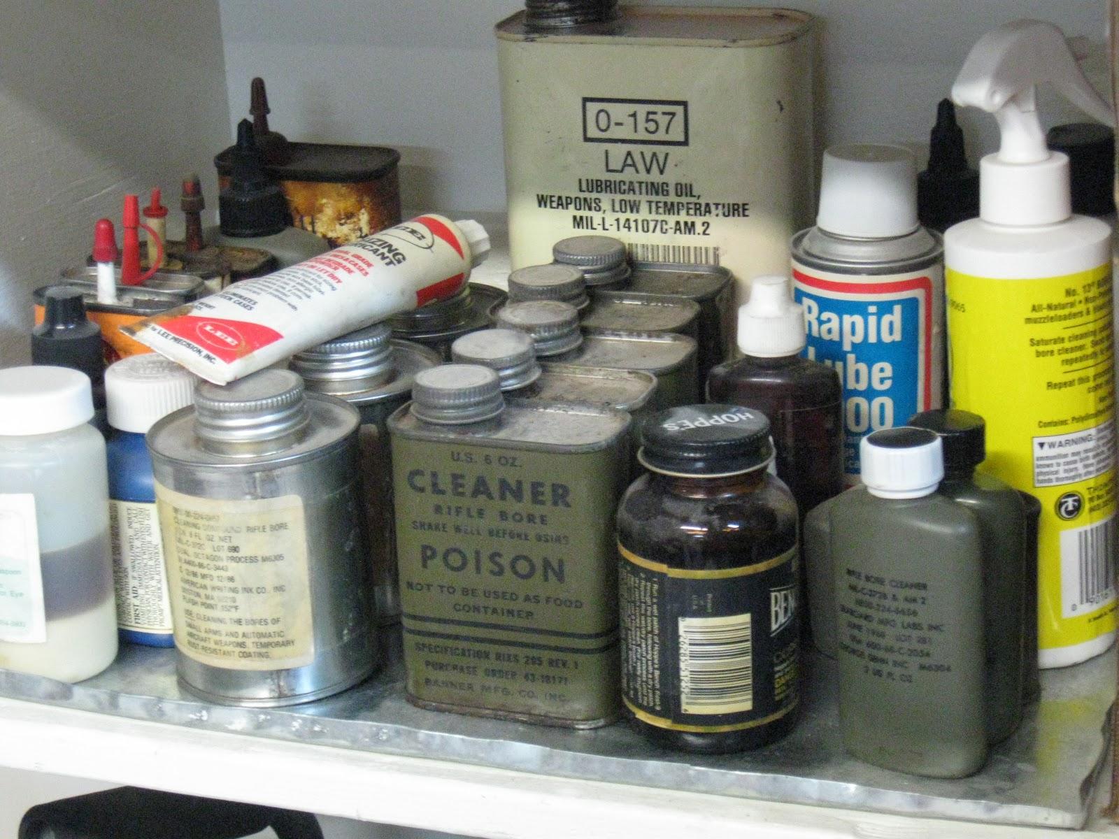 First Patriot Press: Substitute Gun Oil