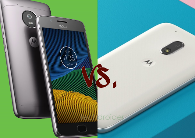 Moto G5 vs. Moto G4 Play: 5 key differences
