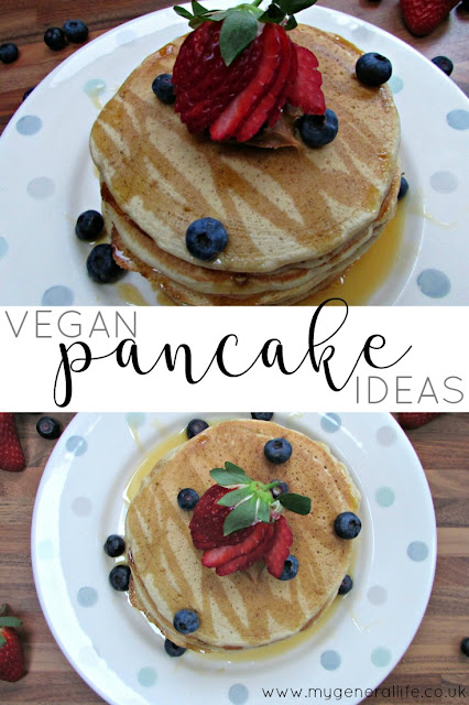 Some delicious and delectable vegan pancake ideas, plus my very own recipe.