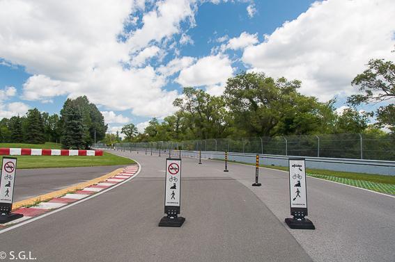 Circuito Gilles Villeneuve. Montreal. Un paseo por el parque Jean Drapeau.