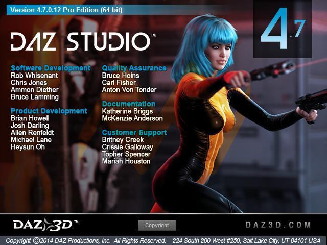 DAZ Studio 4.7.0.12 Pro