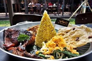 Nasi Tumpeng Mini My Kopi-O! Indonesian Bistro