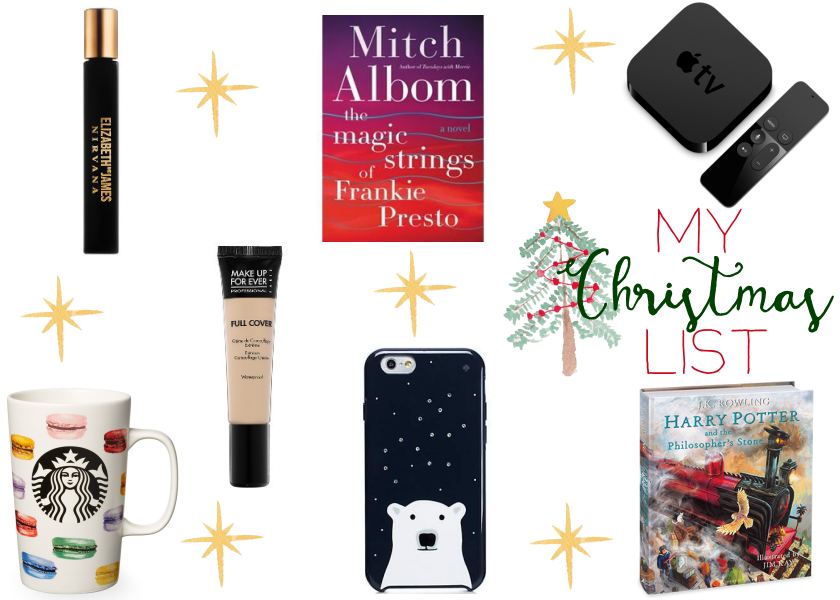 bbloggers, bbloggersca, beauty blogger, wishlist, christmas list, holiday, lbloggers, fbloggers