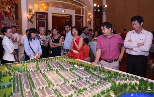 Mở bán khu biệt thự cao cấp Nine South Estates Việt Nam