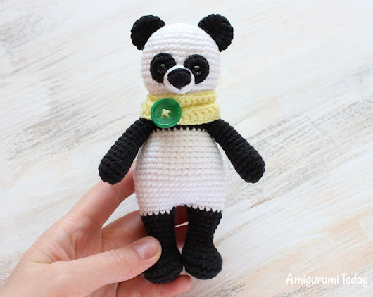 Amigurumi Cuddle Me Panda-Free Pattern - Amigurumi Free Patterns