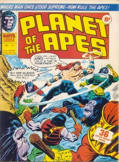 Apeslayer, Planet of the Apes #23