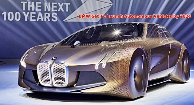 BMW Set To Launch Autonomous Vehicles In China By 2021