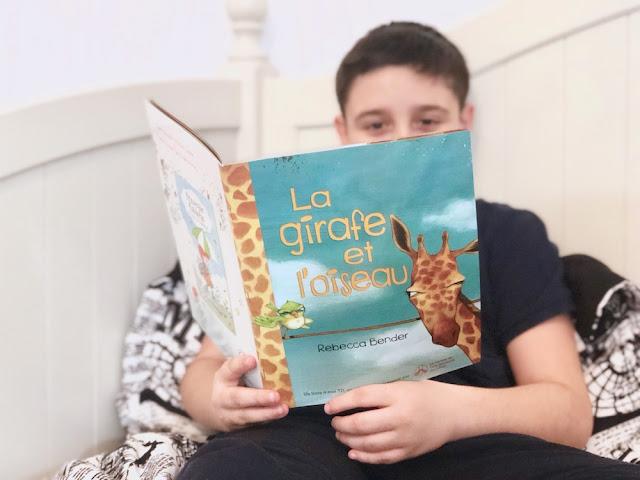 TD Grade One Book Giveaway - La girafe et l'oiseau