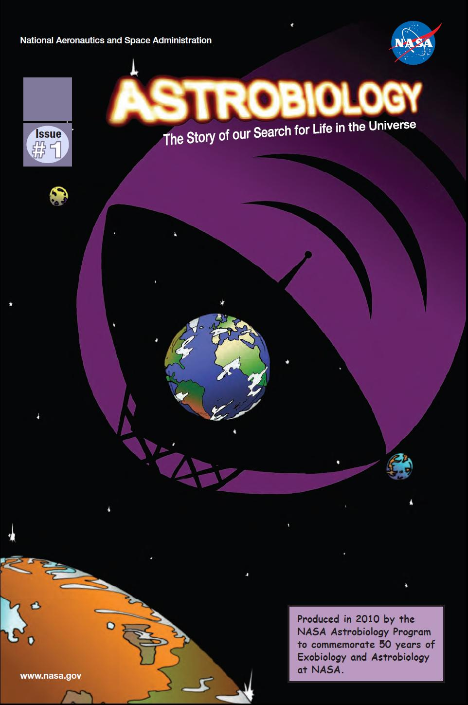 High Definition Ebooks: NASA Astrobiology Magazines 1-3 Issues