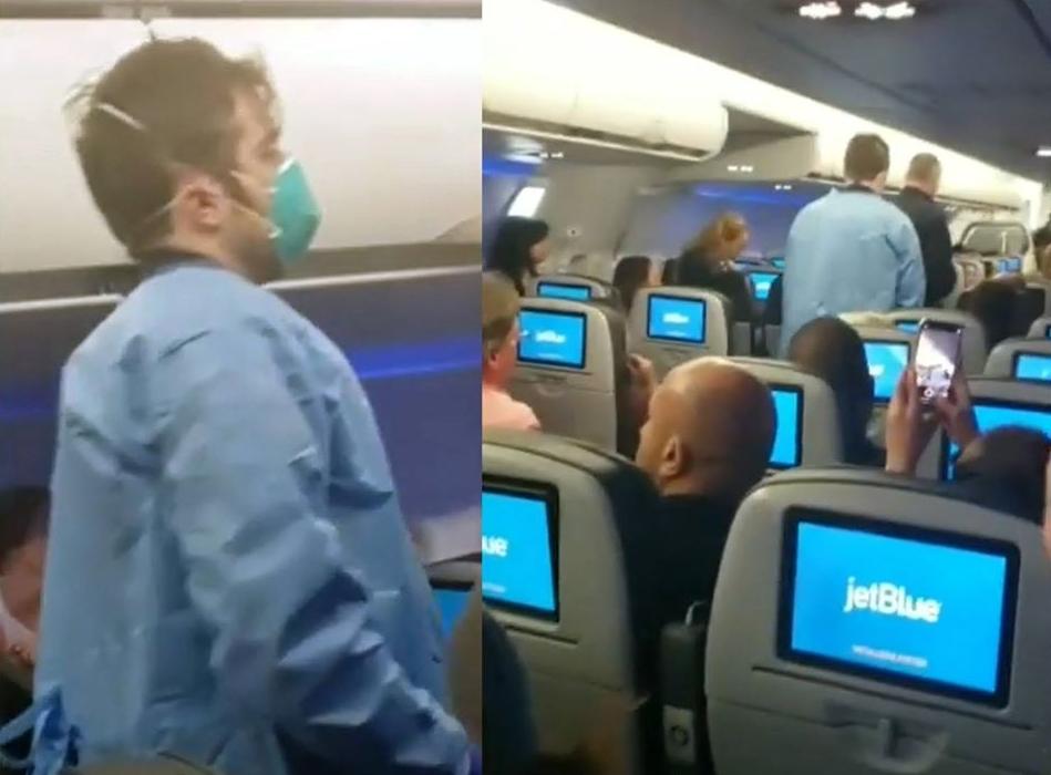 Ponen pasajeros en cuarentena tras vuelo desde RD a NY