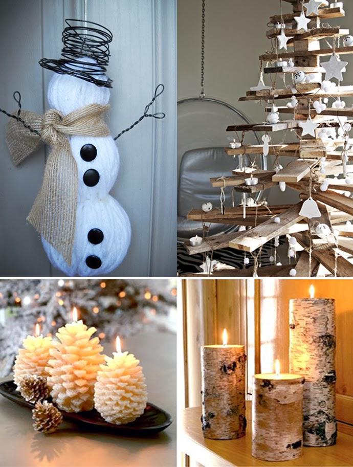 20 ideas de decoraci n de navidad baratas y originales for Adornos originales para navidad