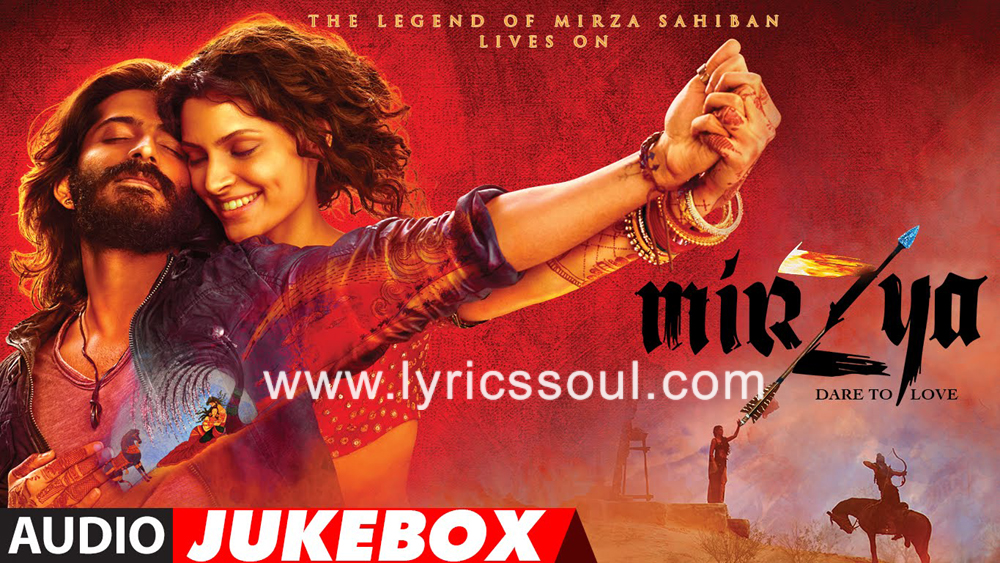 The Kaaga lyrics from 'Mirzya: Dare to Love', The song has been sung by Kaushiki Chakraborty, , . featuring Harshvardhan Kapoor, Saiyami Kher, , . The music has been composed by Shankar-Ehsaan-Loy, , . The lyrics of Kaaga has been penned by Gulzar