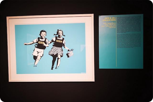banksy l'artista che disegna i bambini