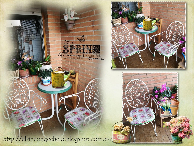El rinc n de chelo cojines para mi terraza - Cojines para sillas terraza ...