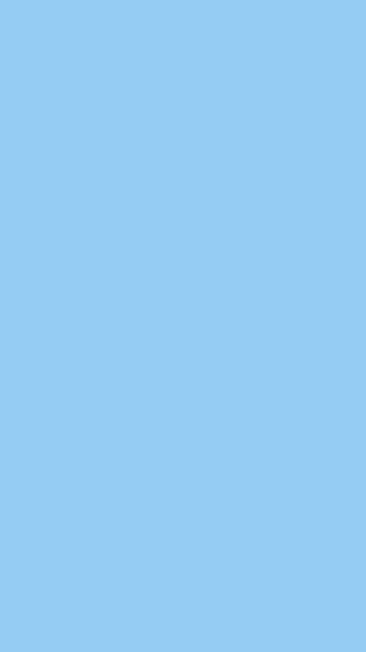 Light Sky Blue Wallpaper For IPhone Solid Color