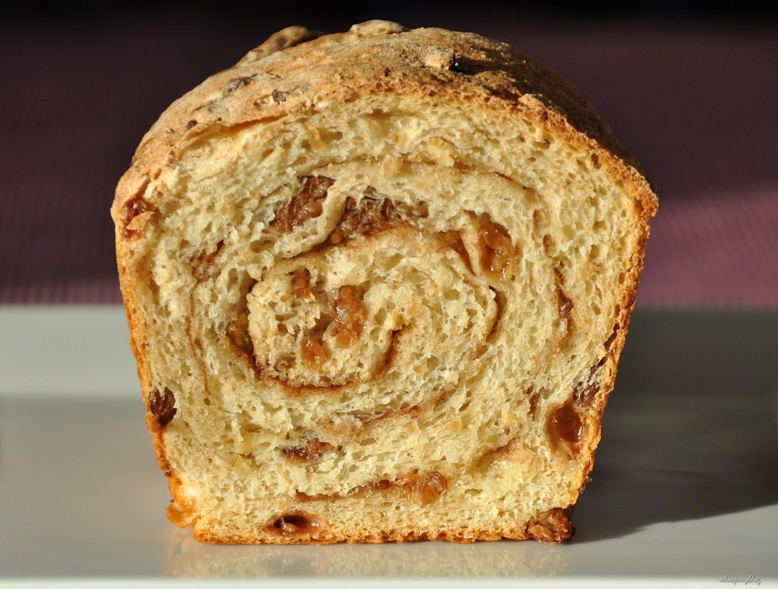 Struan - drożdżowy chleb z cynamonem i rodzynkami, rodem ze Szkocji.
