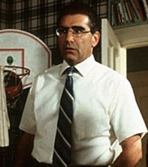 A photo of Eugene Levy from the movie AMERICAN PIE.