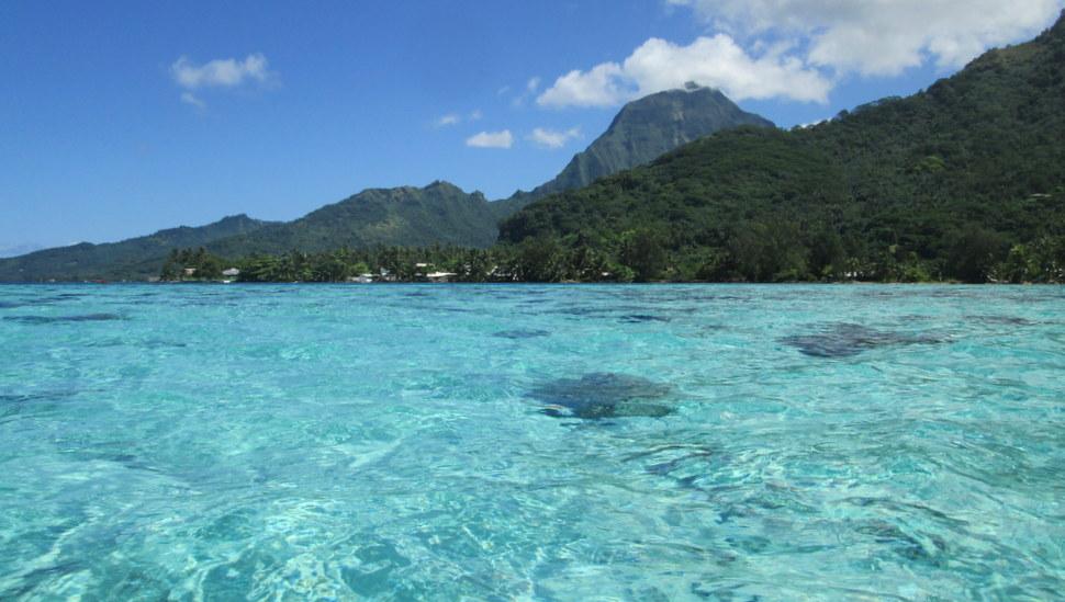 Plage de Malibu Polynesie