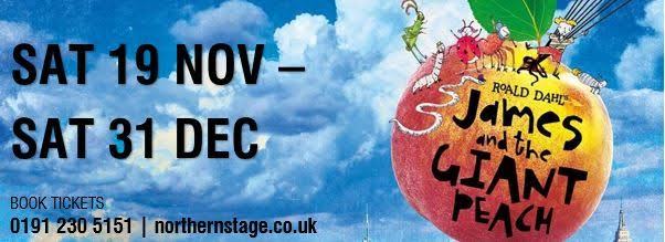 A guide to the best pantomimes in the North East 2016 - James and the Giant Peach at Northern Stage Newcastle
