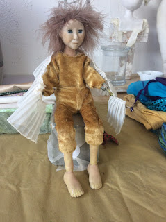dressing the animation figure for The dance of life animation film  by Corina Duyn