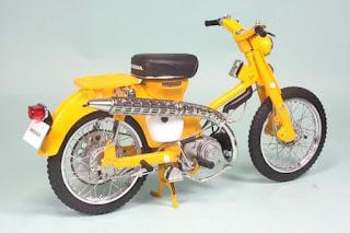 Jual Replika Honda HUNTER CUB C105H 1963