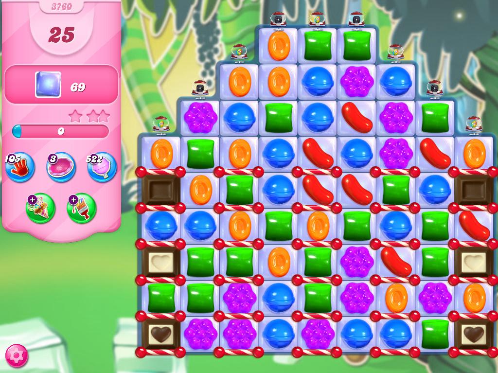 Candy Crush Saga level 3760