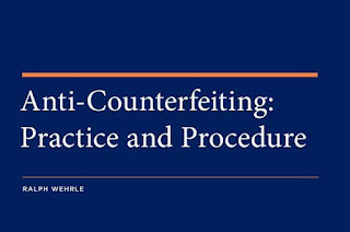 "Book Review: ""Anti-Counterfeiting: Practice and Procedure"""