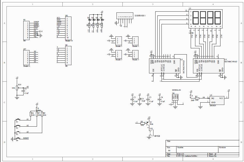 The Jeronimus.Net blog: Arduino Multi Function Shield