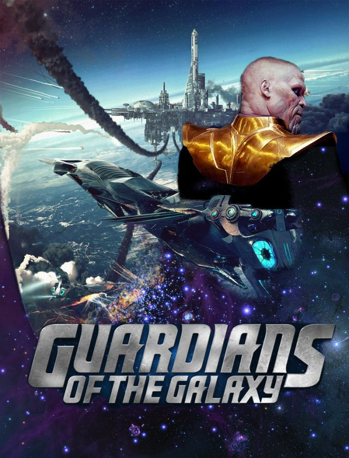 Poster: Guardians of the Galaxy