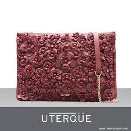 Queen Letizia Style UTERQUE Clutch Bag