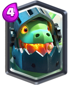 Carta Dragão Infernal de Clash Royale - Cards Wiki