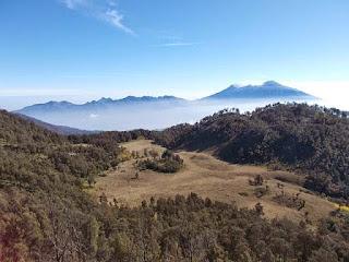 Jalur Pendakian Gunung Butak Via Bukit Panderman